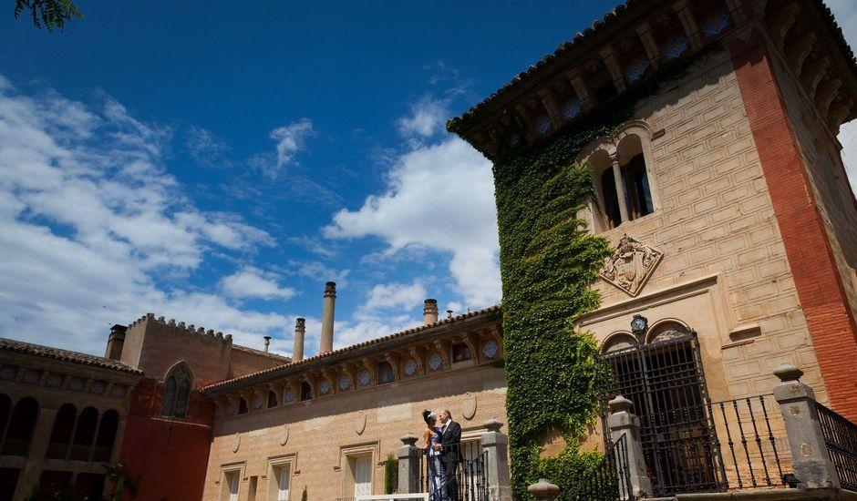 La boda de Nacho y Vir en Pedrola, Zaragoza
