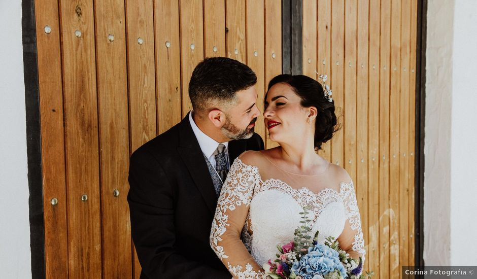 La boda de Rubén y Fayna en Arico, Santa Cruz de Tenerife