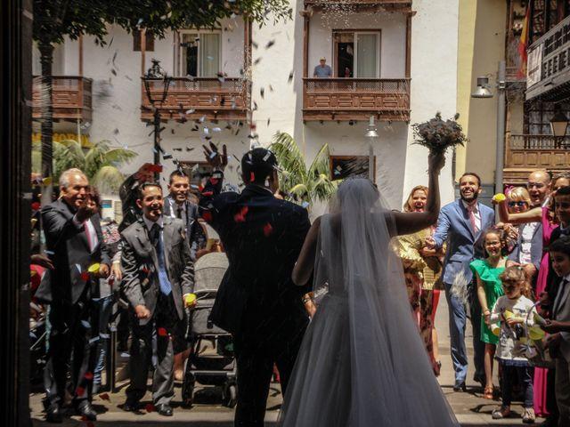 La boda de Fran y Silvia en La Orotava, Santa Cruz de Tenerife 15