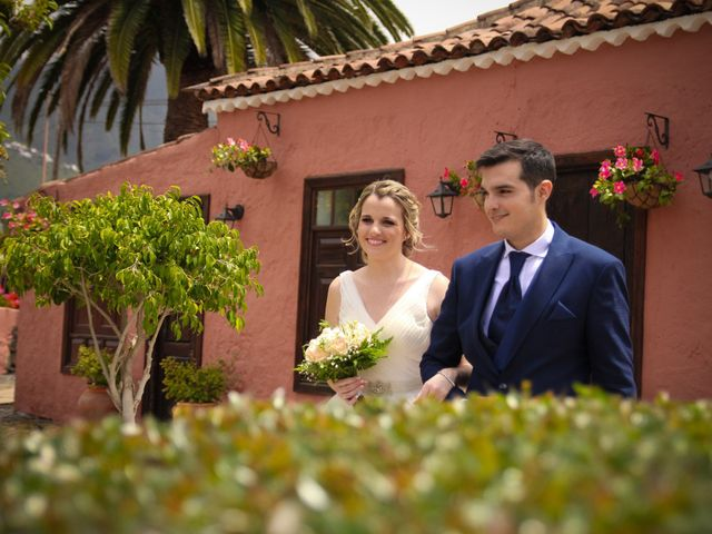 La boda de Fran y Silvia en La Orotava, Santa Cruz de Tenerife 17
