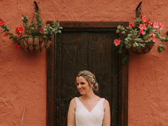 La boda de Fran y Silvia en La Orotava, Santa Cruz de Tenerife 1