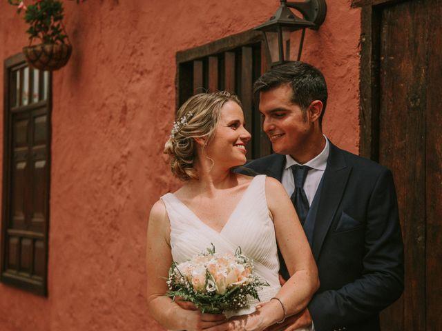 La boda de Fran y Silvia en La Orotava, Santa Cruz de Tenerife 19