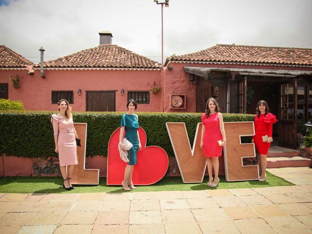 La boda de Fran y Silvia en La Orotava, Santa Cruz de Tenerife 38