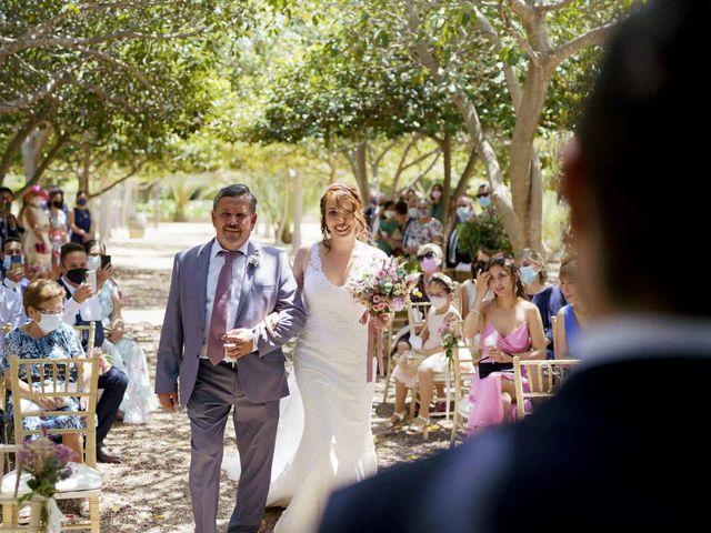 La boda de Adrián y Silvia en Elx/elche, Alicante 18