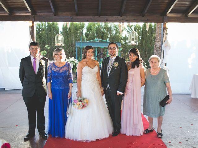 La boda de Javi y Silvia en Sagunt/sagunto, Valencia 68