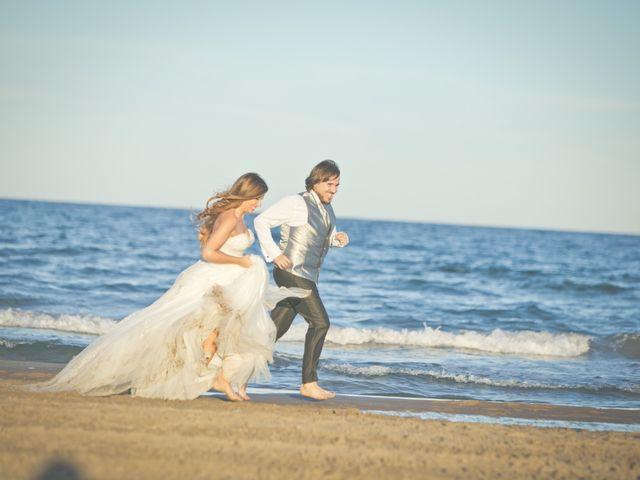 La boda de Javi y Silvia en Sagunt/sagunto, Valencia 123