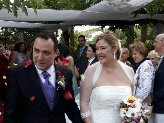 La boda de Miguel y Natàlia en Sant Vicenç De Montalt, Barcelona 19