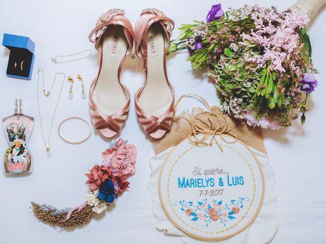 La boda de Luis y Marielys en Guadarrama, Madrid 2