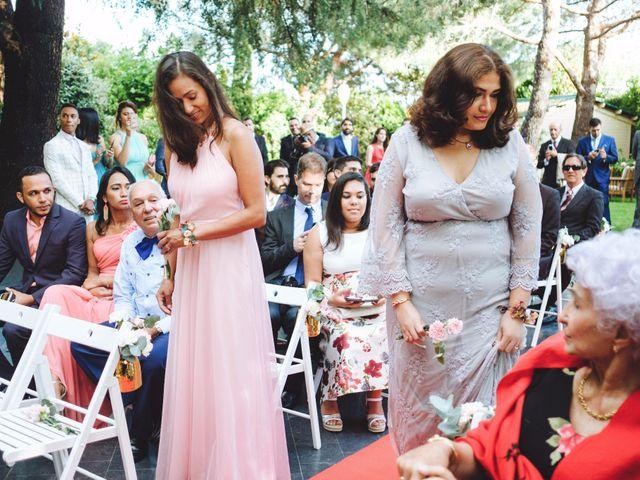 La boda de Luis y Marielys en Guadarrama, Madrid 34