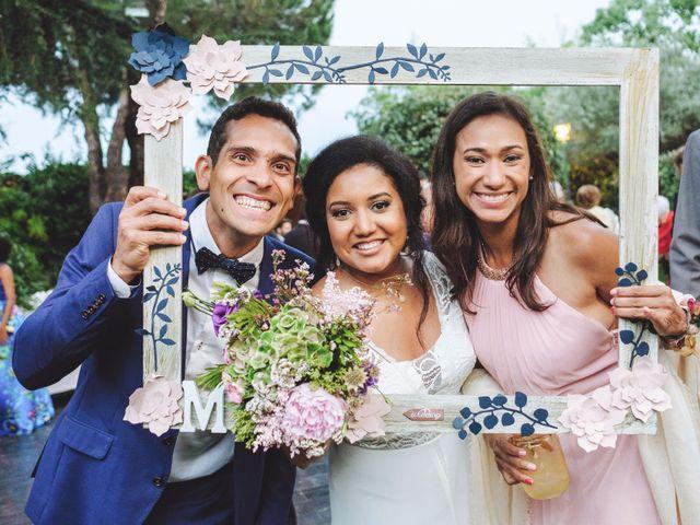 La boda de Luis y Marielys en Guadarrama, Madrid 57
