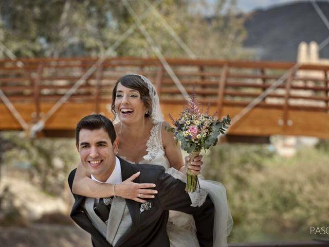 La boda de Sílvia Fernandez  y José palao en Cieza, Murcia 1
