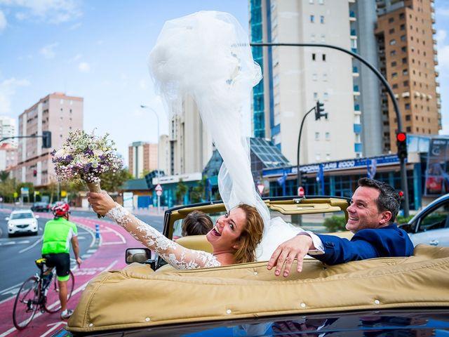 La boda de Angela y Vicente