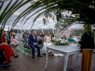 La boda de salvador y Verónica