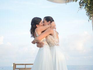 La boda de Mireia  y Stephanie
