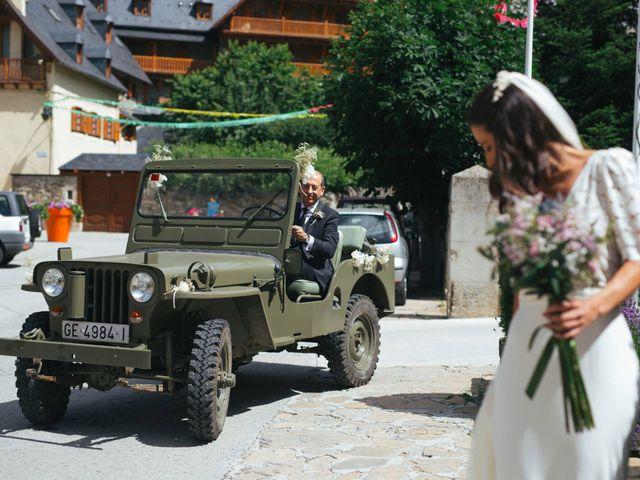 La boda de Sergi y Maria en Vielha/viella, Lleida 1