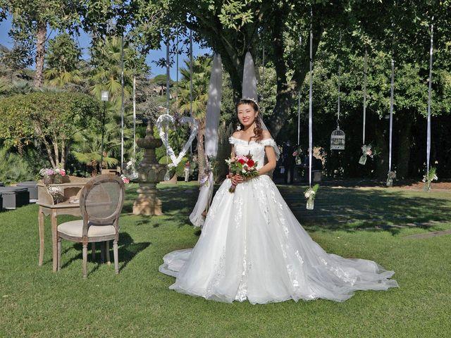 La boda de Jin y Iris en Sant Vicenç De Montalt, Barcelona 41