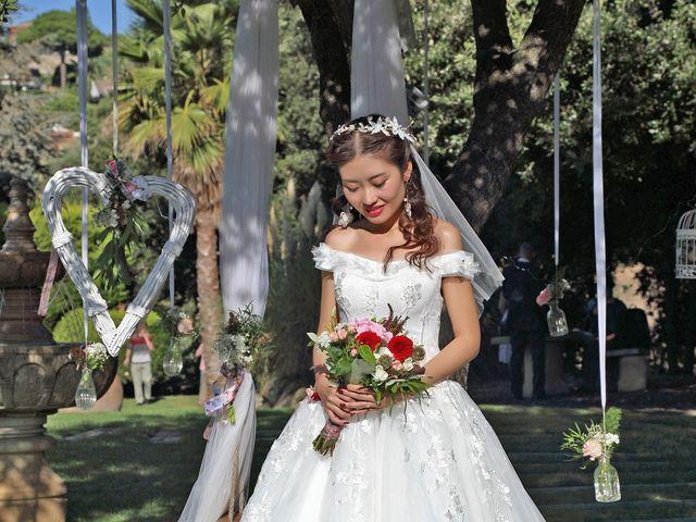 La boda de Jin y Iris en Sant Vicenç De Montalt, Barcelona 42