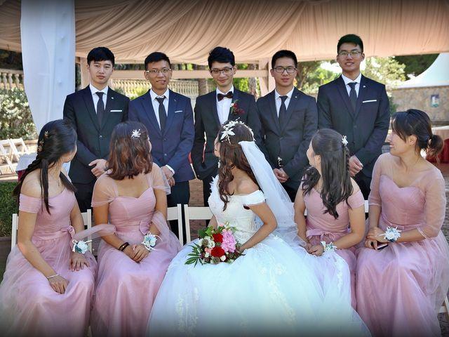 La boda de Jin y Iris en Sant Vicenç De Montalt, Barcelona 45