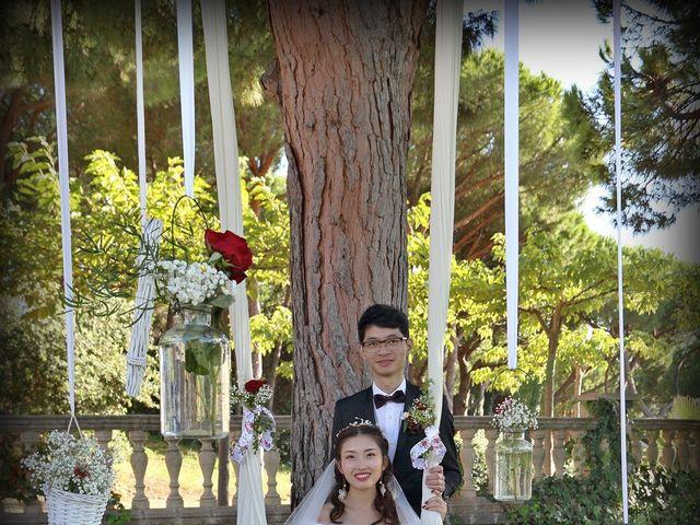 La boda de Jin y Iris en Sant Vicenç De Montalt, Barcelona 46