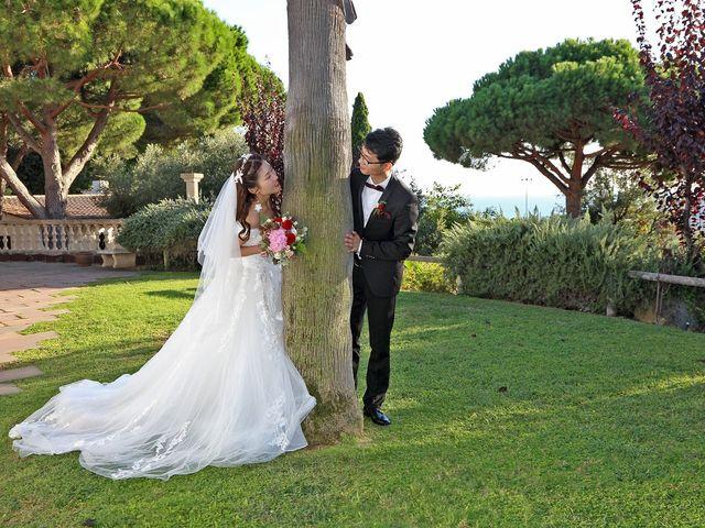 La boda de Jin y Iris en Sant Vicenç De Montalt, Barcelona 48