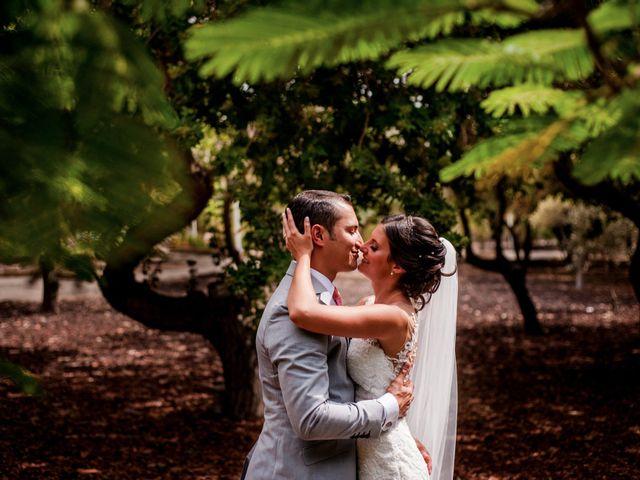 La boda de Irua y David