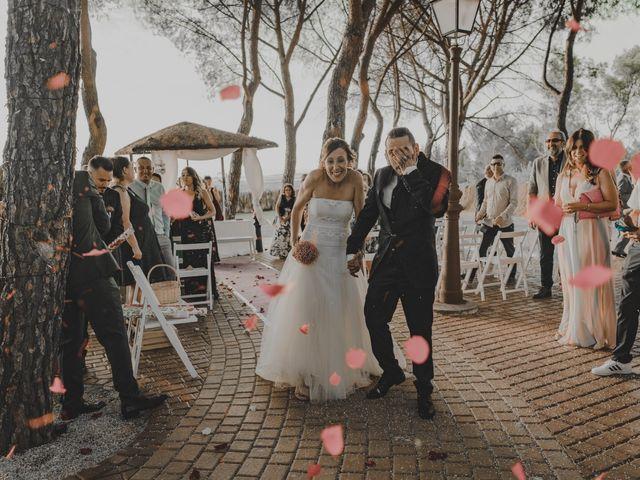 La boda de Sergio y Laura en Villalbilla, Madrid 62