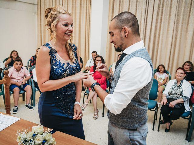 La boda de Carlos y Desy