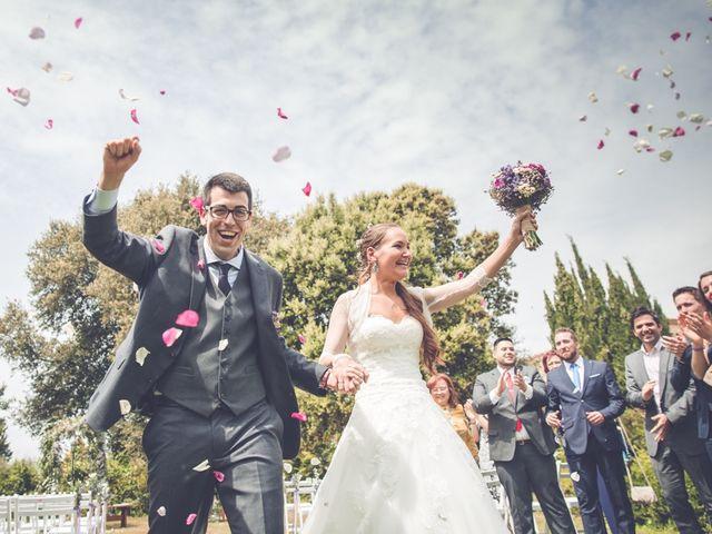 La boda de Andreu y Cristina en Fonteta, Girona 1
