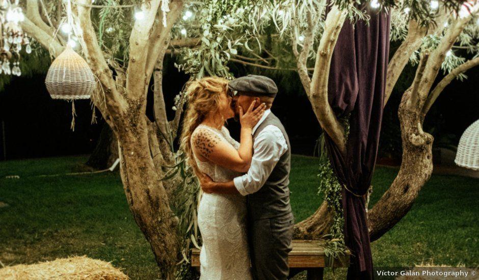 La boda de Kike y Lisa en San Miguel De Salinas, Alicante