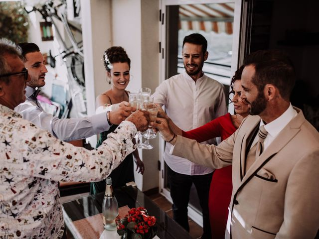 La boda de Salva y Laura en Mijas Costa, Málaga 23