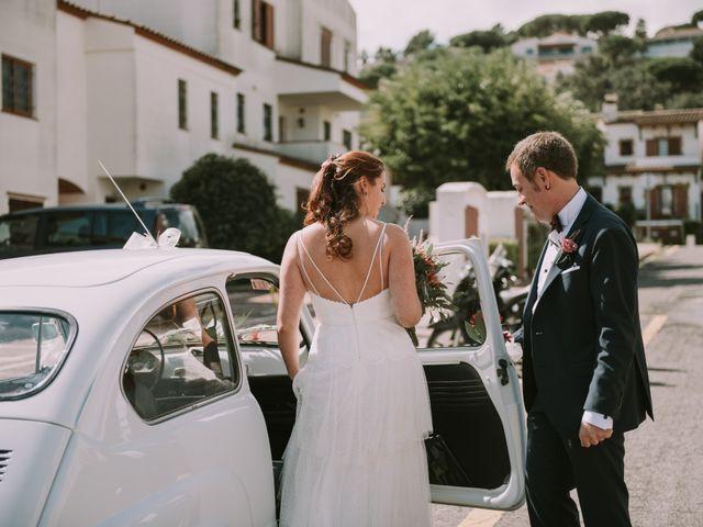 La boda de Miquel y Vanesa en Platja D'aro, Girona 18