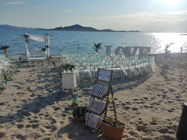 La boda de Carlos y Marimar en La Manga Del Mar Menor, Murcia 2