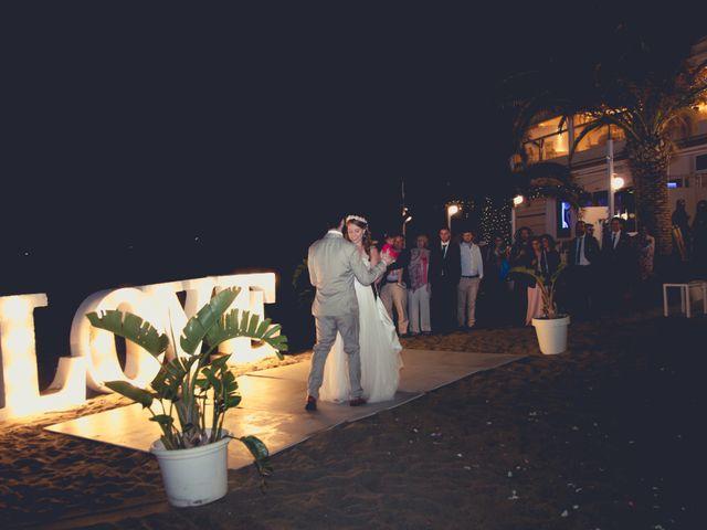 La boda de Carlos y Marimar en La Manga Del Mar Menor, Murcia 1