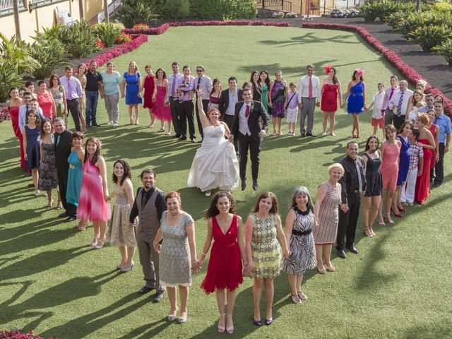 La boda de Alejandro y Merchy en La Orotava, Santa Cruz de Tenerife 1