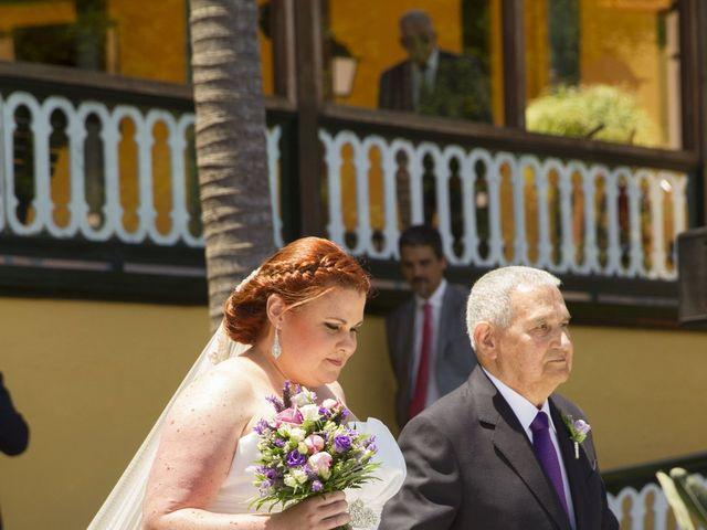 La boda de Alejandro y Merchy en La Orotava, Santa Cruz de Tenerife 3