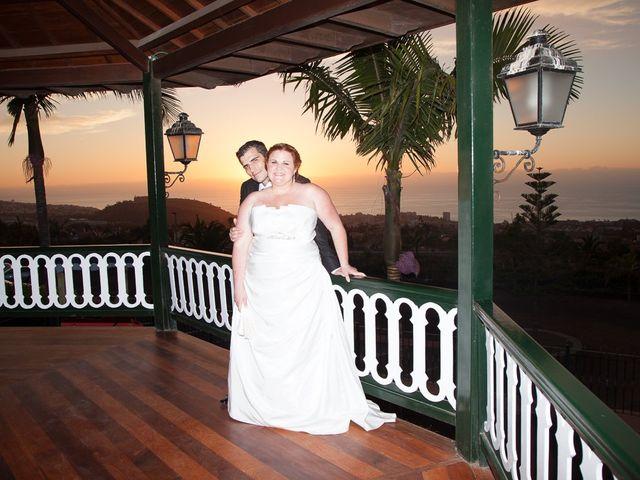 La boda de Alejandro y Merchy en La Orotava, Santa Cruz de Tenerife 10