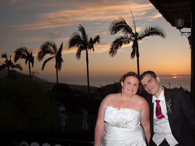 La boda de Alejandro y Merchy en La Orotava, Santa Cruz de Tenerife 12