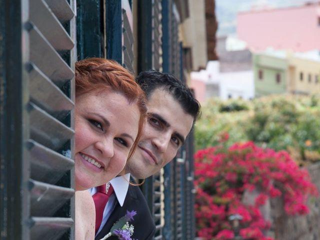 La boda de Alejandro y Merchy en La Orotava, Santa Cruz de Tenerife 13