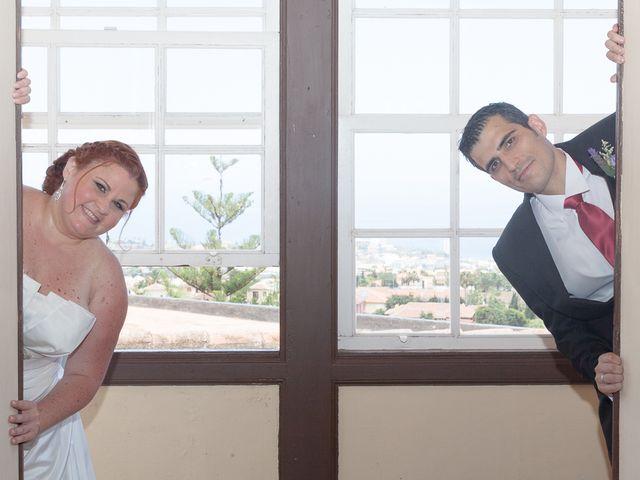 La boda de Alejandro y Merchy en La Orotava, Santa Cruz de Tenerife 16