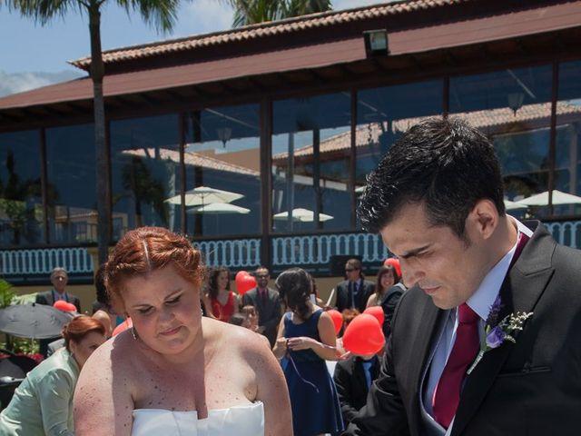 La boda de Alejandro y Merchy en La Orotava, Santa Cruz de Tenerife 24