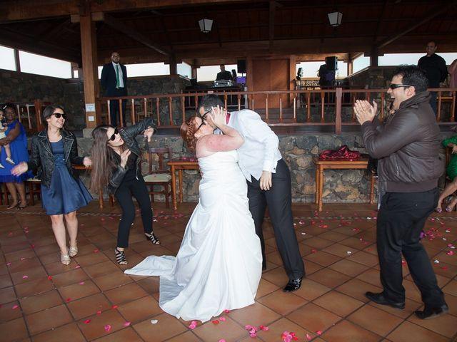 La boda de Alejandro y Merchy en La Orotava, Santa Cruz de Tenerife 28