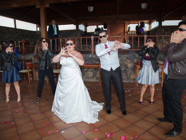La boda de Alejandro y Merchy en La Orotava, Santa Cruz de Tenerife 29