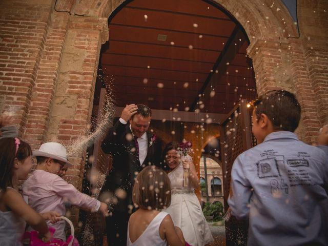 La boda de Elena y Bony