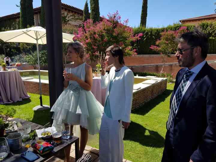 La boda de Natacha  y Raquel