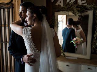 La boda de Estelle y Fran