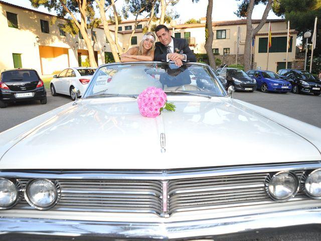 La boda de Cristina y Joan
