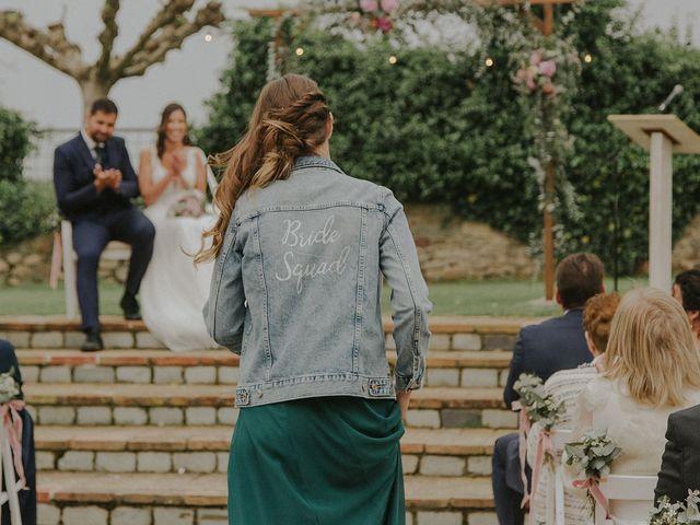 La boda de Jaume y Carla en Sant Gregori (Municipio), Girona 21