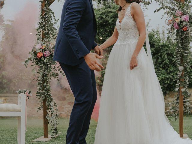 La boda de Jaume y Carla en Sant Gregori (Municipio), Girona 34