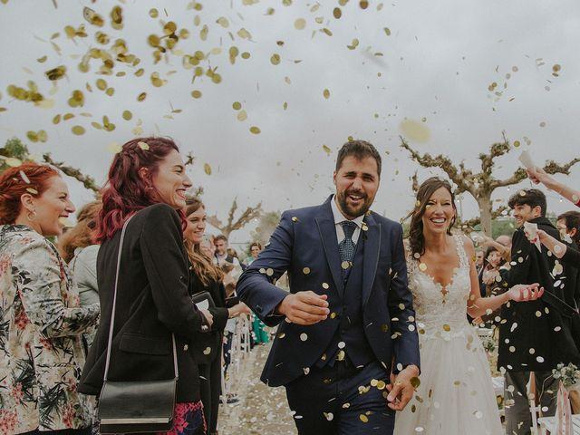 La boda de Jaume y Carla en Sant Gregori (Municipio), Girona 35