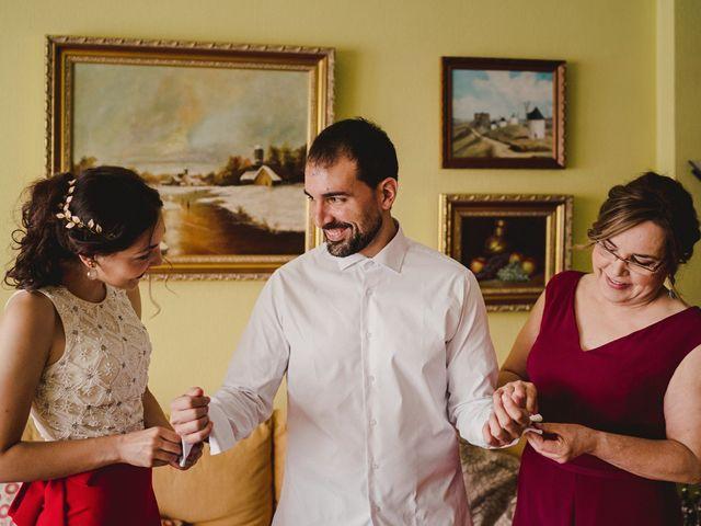 La boda de Servando y Teresa en Caracuel De Calatrava, Ciudad Real 11